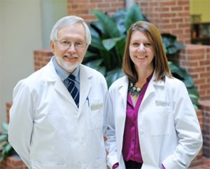 Dr. Roy Hakala and Dr. Kim Ledermann